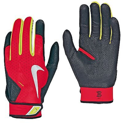 "New - Nike ""vapor Elite Pro"" Hyperfuse Batting Gloves - Adult Medium -Retail $60"
