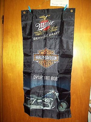 Harley Davidson Miller GD Flags Four Different Promos DFB, WG, SN, SI 883 Choose