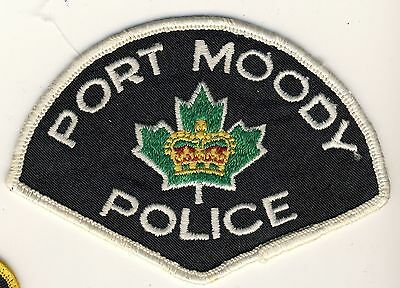 Port Moody Police Patch British Columbia Canada