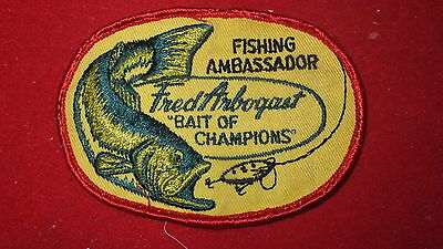 Patch - Fishing Equip. Manufacturer - Fred Arbogast