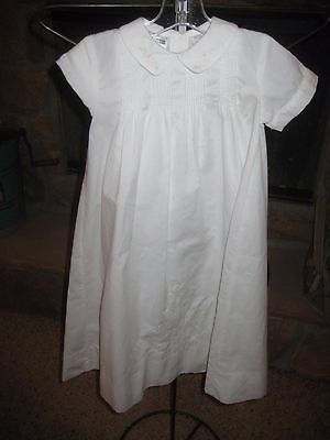 SARAH LOUISE  baby christening baptism gown and matching bonnet,EUC 6M