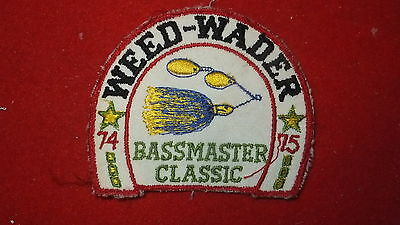 Patch - Fishing Equip. Manufacturer - Weed-Wader