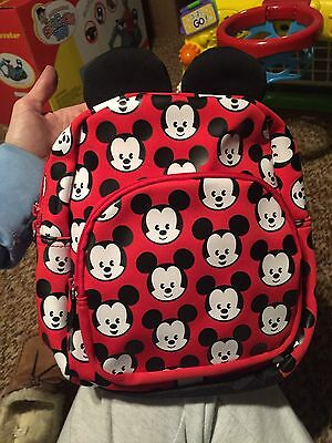 MXYZ Mickey Mouse Backpack NWT