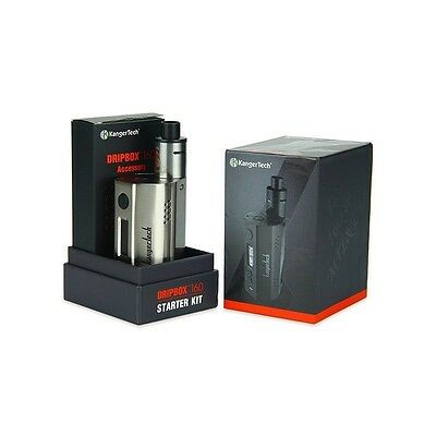 Kangertech DripBox Complete Advance Kit 160W Authentic UK Seller Free Delivery