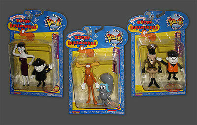 Rocky & Bullwinkle, Boris, Natasha & Fearless Leader Bend Ems by JusToys