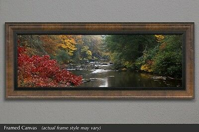 """Thomas Mangelson """"Whisper of Fall"""" large framed Fuji Crystal Archive print NEW"""