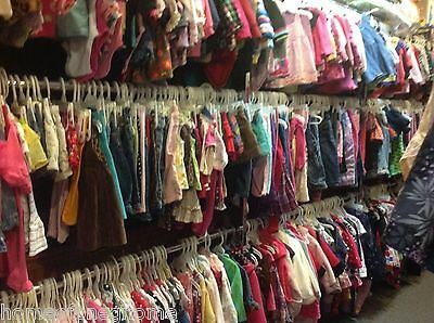 25 PC Lot Children's kids clothing sz 6 months to 12 girls pants shirts dresses
