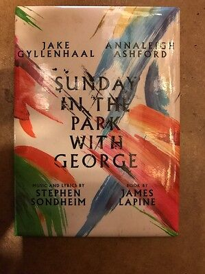 Sunday In The Park With George Magnet Broadway Musical Jake Gyllenhaal Sondheim
