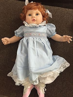 """Collectible doll by Pauline """"Brianna"""" LE 715 of 1,800 20 in. Vinyl and Cloth"""
