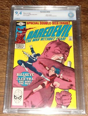 Daredevil #181 (Apr 1982, Marvel) CBCS 9.4 WHITE PAGES DEATH OF ELEKTRA