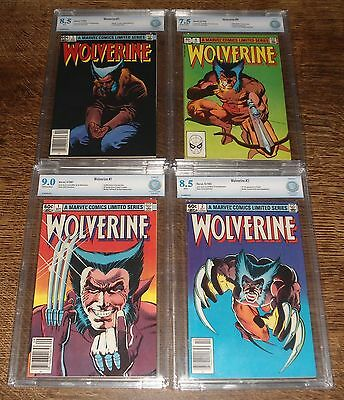Wolverine #1 THRU #4 COMPLETE SET AND ALL CBCS CERT - 1ST SOLO WOLVERINE SERIES