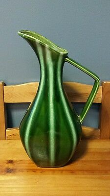Hull Continental Pitcher #56 Evergreen Mid Century Modern Art Pottery