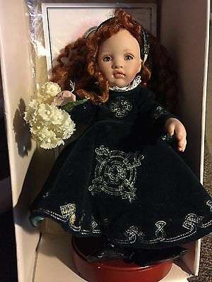 """Collectible Paulinette doll """"Kathleen"""" 8"""" tall LE 234 of 1000"""