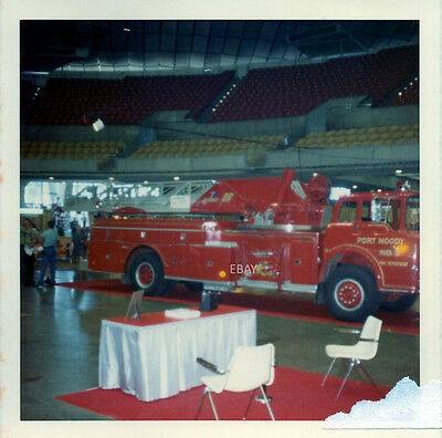 1970 Iafc Show - Seattle - Port Moody Fire Truck - Ford Mack Aerial Ladder Photo