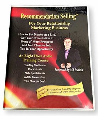 Recommendation Selling Course by MJ Durkin (8 HR Audio Course) BRAND NEW SEALED!