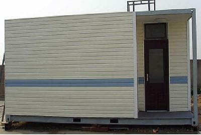 House Home Office Cabin Granny flat in Shipping Container, Portable Relocatable