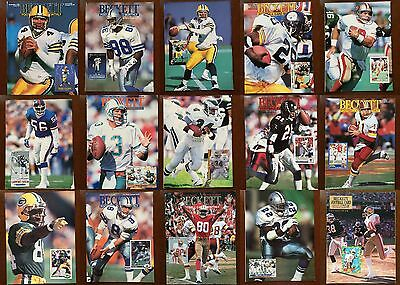 You Choose Beckett Football Card Monthly Magazine Price Guides 1990-1993