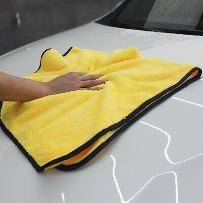 "22x36"" Extra Large Microfiber Drying Towel Car Cleaning Cloth No-Scratch 92x56cm"