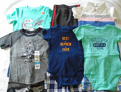 New 11 Pc. Lot Of Baby Boy Clothes 12-18 Months Nwt $142