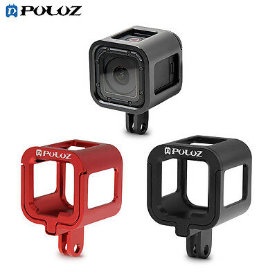 Housing Shell Aluminum Alloy Protective Cage + Frame For GoPro HERO5/4 Session