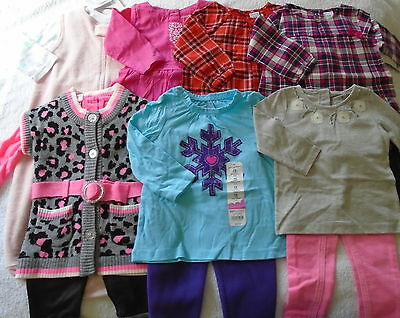 New 15 Pc. Lot Of Baby Girl Clothes 6-12 Months Nwt $200