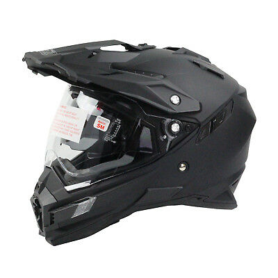 Oneal NEW Mx 2018 Sierra Adventure Motorcycle Matte Black Dual Sport Helmet