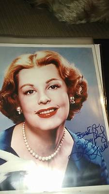 Signed Arlene Dahl  8x10 picture with receipt !!!