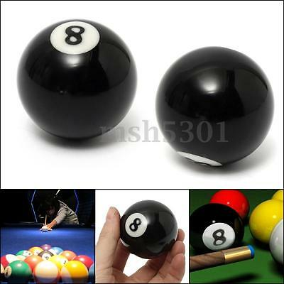"8 Ball Replacement Billiard Pool Table Eight Ball 2-1/4"" Regulation Size  2-1/4"""