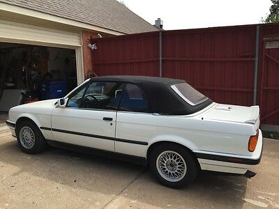 1991 BMW 3-Series Deluxe Classic BMW 1991 convertible