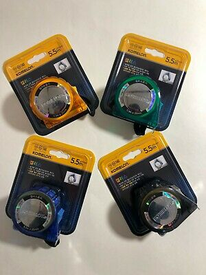 New Komelon Colors Tape Measure 5.5m x 25mm KMC-25CV Metric Korea