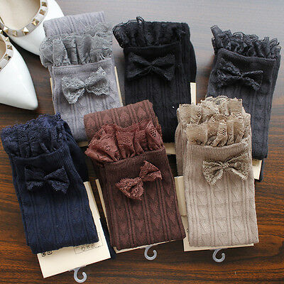 UK STOCK Ladies Over The Knee Thigh High Womens Stretch Girls Cotton Socks