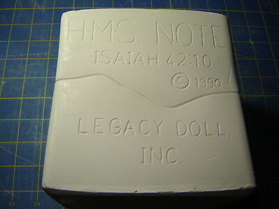 Porcelain Doll mold, head of H.M.S. Note, Legacy molds
