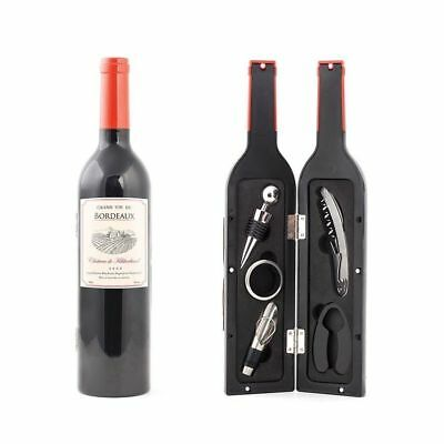 Wine Bottle Accessories Accessory 5 Piece Bottled Kit Gift Box