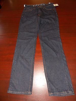 mens nautica classic straight jeans 30x32 nwt $49.50