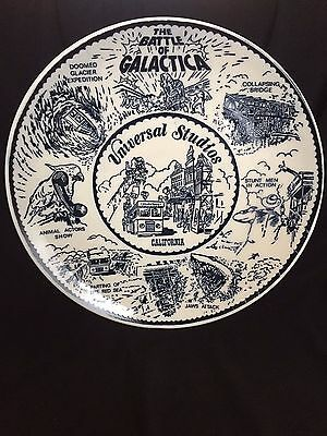 "VINTAGE style Universal Studios California Plate, Reproduction 9"" 1/4"