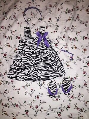 American Doll Zebra Print Dress