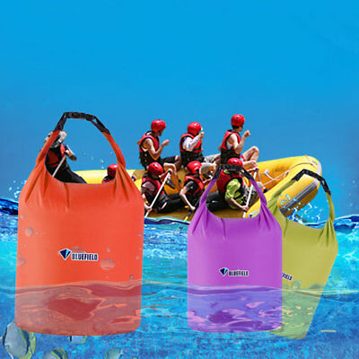 Outdoor Waterproof Camping Rafting Storage Dry Bag with Ajustable Strap Hook OB