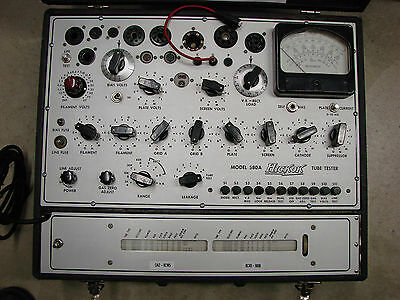 Hickok model 580A Dynamic Mutual Conductance Tube Tester