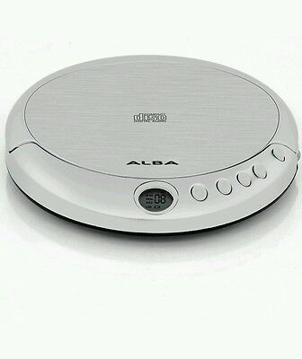 Alba Personal Portable CD Player Walkman with 2 Digit LCD Display and earphones