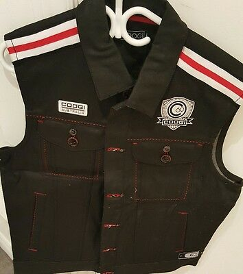 Never Worn Coogi Vest With Tags