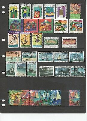 Cocos Keeling mixed stamps