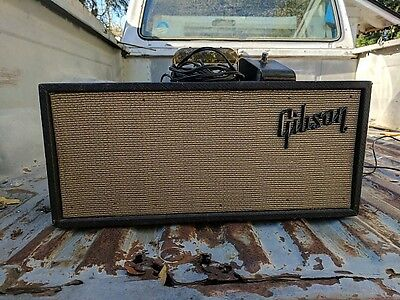 Early 70's Gibson Reverb III Unit w/ Footswitch