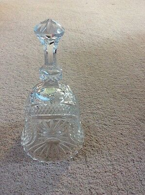 Lead Crystal Glass Bell