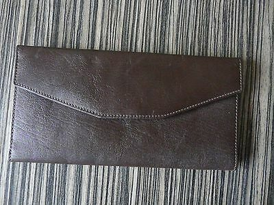 Rover Wallet Men's Brown Leather With Logo Brand New