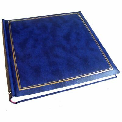 Classic Blue Traditional Photo Album - 100 Sides