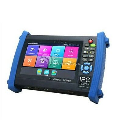 IP Camera 7 inch Touch Screen CCTV Tester HDMI Input POE Test PTZ Control WIFI