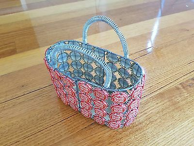 Hand Made Bag Made With Coca Cola Bottle Cap