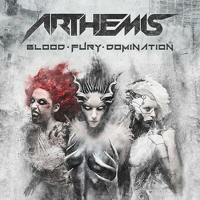 ARTHEMIS - Blood-Fury-Domination - CD DIGIPACK