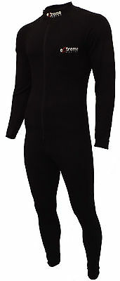 One piece base layer bodysuit undersuit for motorcycle ski from extreme racing