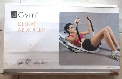 Attrezzo addominali iGym Deluxe AB Roller